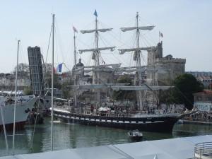 Le Belem a La Rochelle