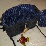 Intérieur et sac à linge sale